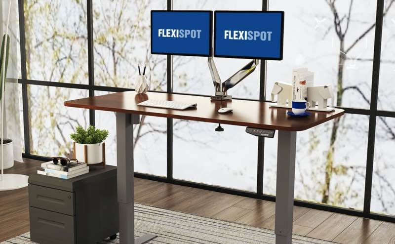 FLEXISPOT(フレキシスポット)電動昇降式スタンディングデスク